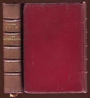 Oeuvres Poetiques de Victor Hugo: Les Contemplation: Hugo, Victor