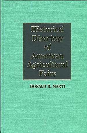 Historical Directory of American Agricultural Fairs