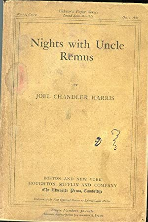 Nights With Uncle Remus; Myths And Legends Of The Old Plantation