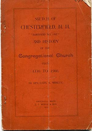 """Sketch of Chesterfield, N.H. """"Township No. One"""",: Sinnett, Charles. N."""