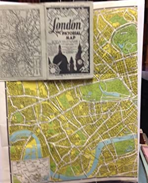 London Pictorial Map; The Streets Are Clearly Shown And Named With The Latest Alterations And Ind...
