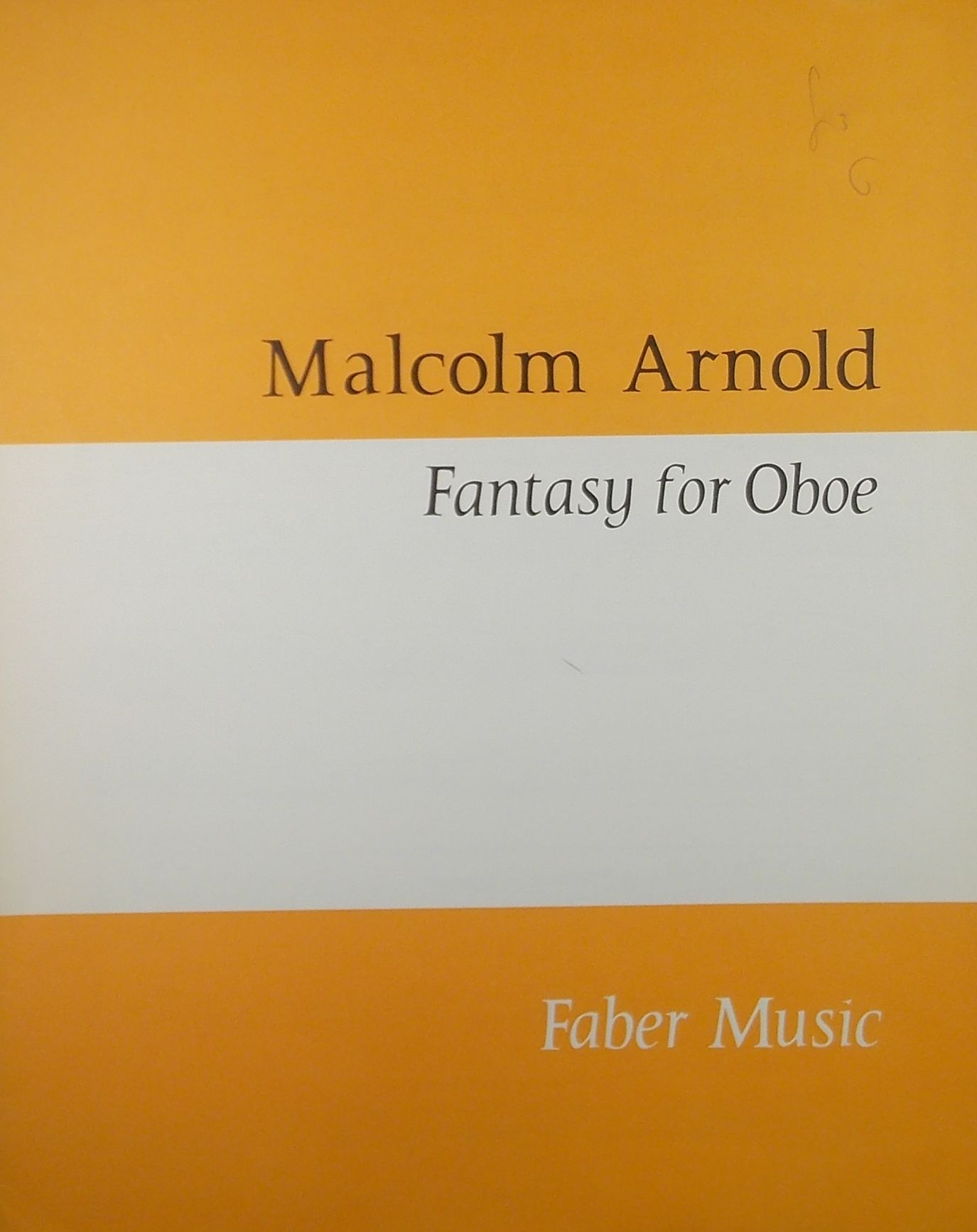 Fantasy For Flute /& Guitar  Flute and Guitar Malcolm Arnold Book Only QT64