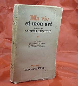 Ma vie et mon art, Souvenirs de: LITVINNE, Felia