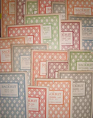 The Sackbut, 31 issues from between 1925: GREVILLE, Ursula (ed.)
