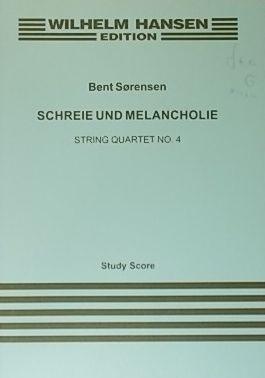 Schreie und Melancholie, String Quartet No.4, Study: SORENSEN, Bent