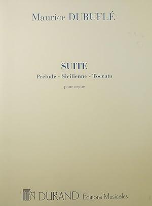 Suite, pour orgue, Op.5: DURUFLE, Maurice