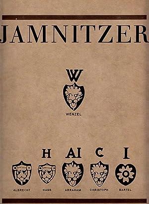 Jamnitzer. Alle erhaltenen Goldschmiedearbeiten, verlorene Werke, Handzeichnungen.: JAMNITZER - Rosenberg: