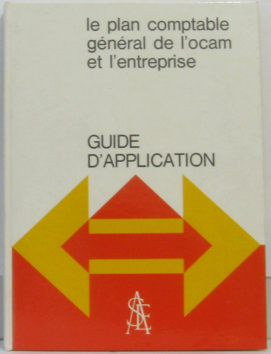 Le Plan Comptable General De L Ocam By Corre Paul Perochon Et Prost 1971 Crealivres