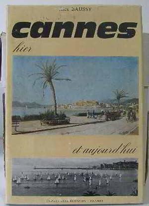 Cannes hier aujourd'hui: BAUSSY Alex
