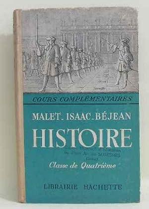 Cours complémentaire histoire l' ancien régime et: Malet, Isaac, Béjean