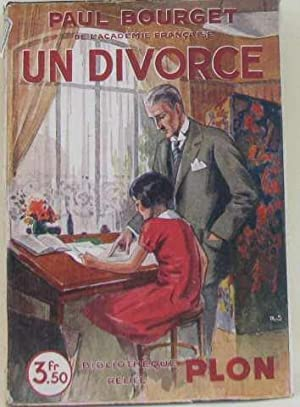 Un divorce: Bourget Paul