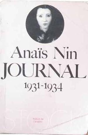 Journal (1931-1934): Nin Anais