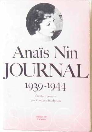 Journal 3ème volume 1939 1944: Nin Anais
