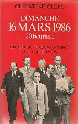 Dimanche 16 Mars 1986 20 heures -: Clerc Christine