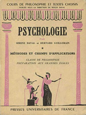 Psychologie 1 Méthodes et champs d'application