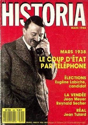 Historia n°495, mars1988 : Le coup d'état