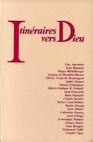 Itinéraires vers dieu de 21 ecrivains juifs,: Aurenche, Bastaire, Bichelberger,