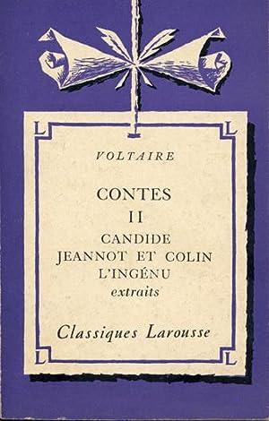 Contes : . 2. Candide. Jeannot et: Petit Roger, Voltaire