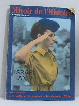 Miroir de l'histoire novembre 1968 n°227 Israel