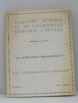Cahiers d'o.r.l et de chirurgie cervico-faciale, les: Guerrier Y