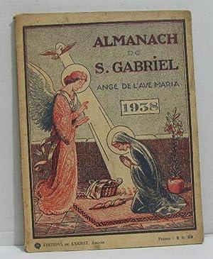 Almanach de s.gabriel ange de l'ave maria