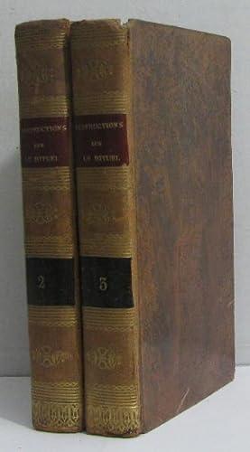 Instructions sur le rituel tome II et: Gousset M