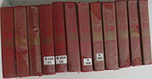 Oeuvres (13 volumes - incomplet) 5 semaines: Verne Jules