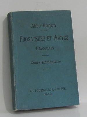 Morceaux choisis de prosateurs et de poètes: M.l'abbé E.ragon, Collectif