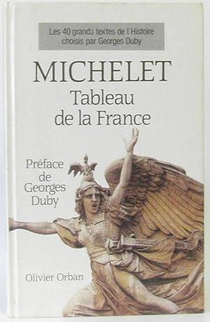 Tableau de la France: Michelet
