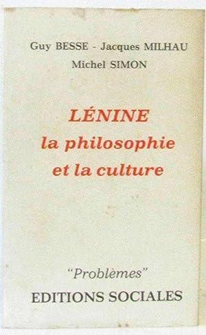 Lenine - La philosophie et la culture: G. Besse /