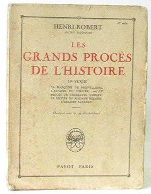 Les Grands Procès De L'histoire - IIe: Henri-Robert