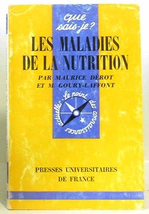Les maladies de la nutrition: Dérot, Goury-laffont