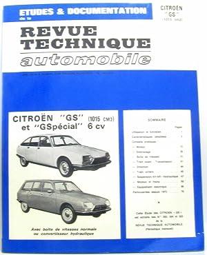 Revue technique automobile - études & documentation: Collectif
