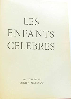 Les enfants célèbres (volume 5 de la: MAGNY, Claude Edmond,