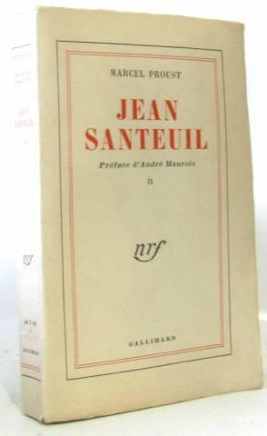 Jean Santeuil tome II (tome deuxième: Proust
