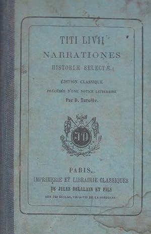 Narrationes historiae selectae: TITI LIVII