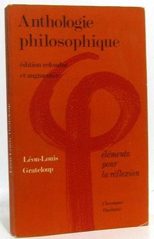 Anthologie Philosophique: Grateloup Léon-Louis