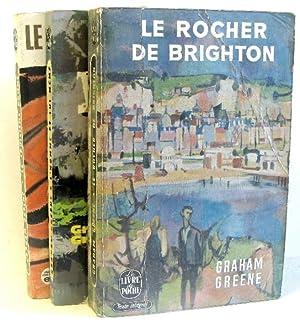 3 volumes de graham greene ; Le: Greene Graham
