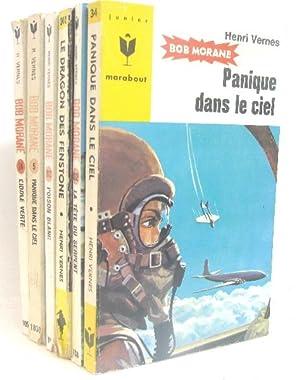 6 volumes Bob morane ; L'idole verte: Vernes Henri