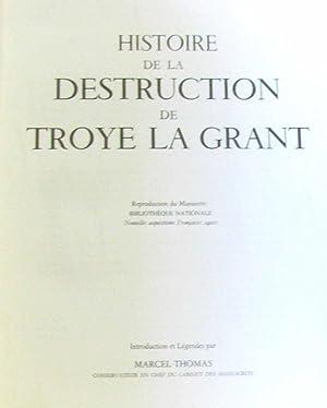 Histoire de la Destruction de Troye la: Thomas Marcel (introduction