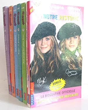 Mary-Kate and Ashley Sweet 7 volumes ; Premier baiser - croire à son rêve - un été parfait - rout...