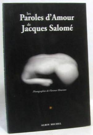 Les paroles d'amour de jacques salomé: Jacques Salomé, Florence