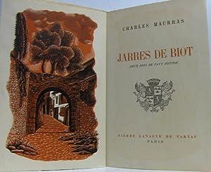 Jarres de Biot, deux bois de Tavy: Maurras (Charles)