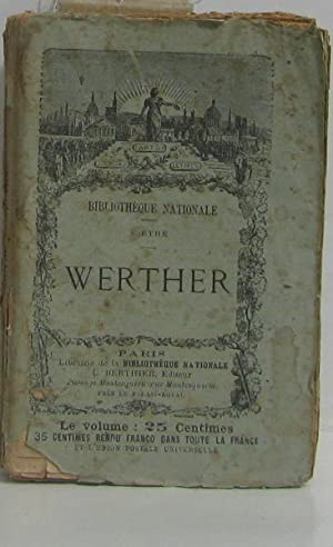 Werther: Goethe