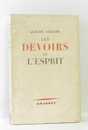 Les devoirs de l'esprit: Aveline Claude