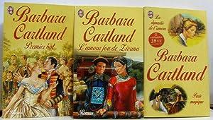 Ensemble de 12 volumes (21 romans) dont: Cartland