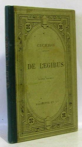 De Legibus, liber primus: M.T. Ciceronis