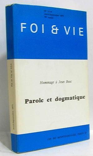 Foi et Vie - Hommage à Jean: Collective