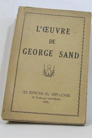 L'oeuvre elle et lui - valentine -: Sand George