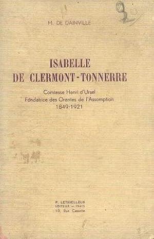 Isabelle de Clermont Tonnerre, comtesse d'Henri d'Ursel,: Dainville M. De